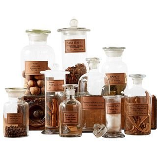 Traditional Bathroom Canisters by Bliss Home & Design
