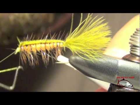 Stillwater Nymph Fly Tying Video FOR GRASS CARP