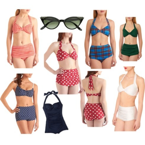 Allie (from the Notebook)-inspired bathing suits (: