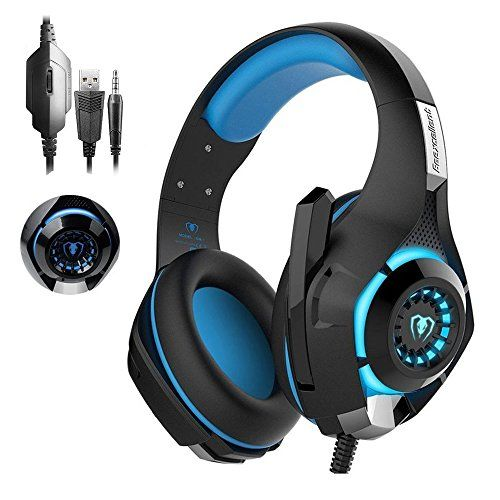 #Gaming #Headset, #RedHoney #Stereo #PS4 #LED #Gaming #Headphone With #Microphone for #PS4 #PSP #Xbox one #PC #Tablet #iPhone #iPad #Samsung #Smartphone 【WIDE COMPATIBILITY】:with 3.5mm connector,support #PS4,#Xbox one,#Xbox one S,Nintendo 3DS,#PSP,Laptop,#PC,#Tablet,#ipad,all kinds of smart phones.Need a extra Microsoft Adapter(not included)when connecting with an #xbox one controller 【SURROUNDING #STEREO SOUND】:High precision 40mm driver closed earcup design covers y