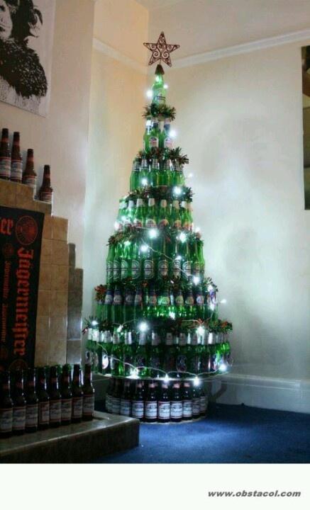 beautiful beer christmas tree! - 96.5KB