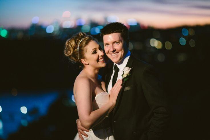 Sydney Harbour at night. Sydney Wedding Photography. Image: Cavanagh Photography http://cavanaghphotography.com.au