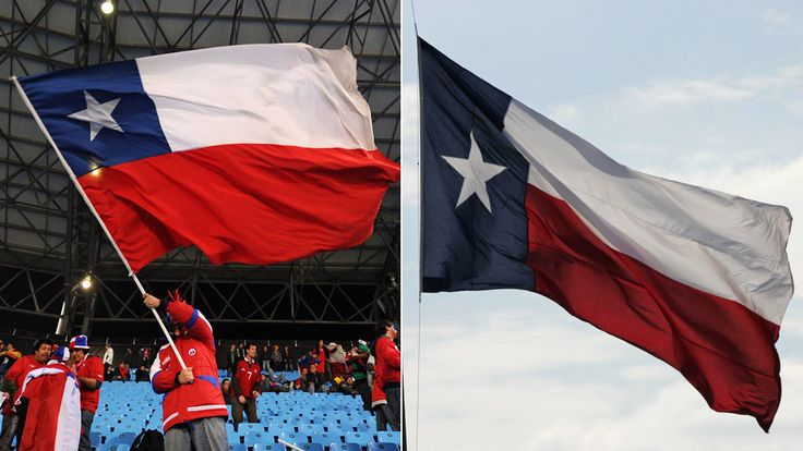 The Chilean flag's emoji is being confused by some with the Lone Star Flag of Texas.