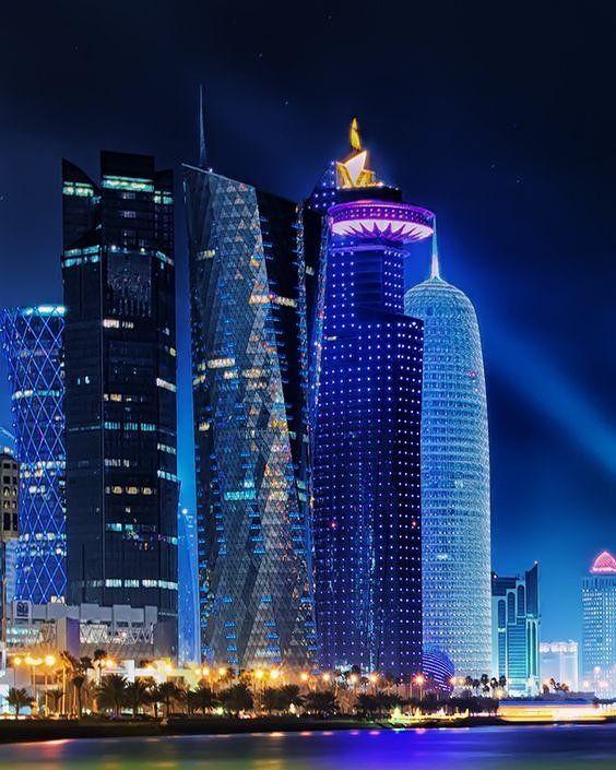 Good Night #Doha #Qatar Tag your Awesome Photos #Qatarism