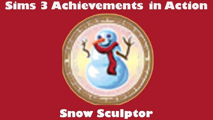 A video guide to The Sims 3 Achievements. This video is about the bronze achievement Snow Sculptor.    #thesims3 #thesims #youtube #video #sims #gaming #Sims3Achievements