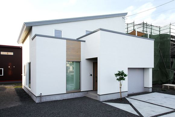 屋上に庭のある家 住まいの実例集 釧路エリア ウッディークラフト