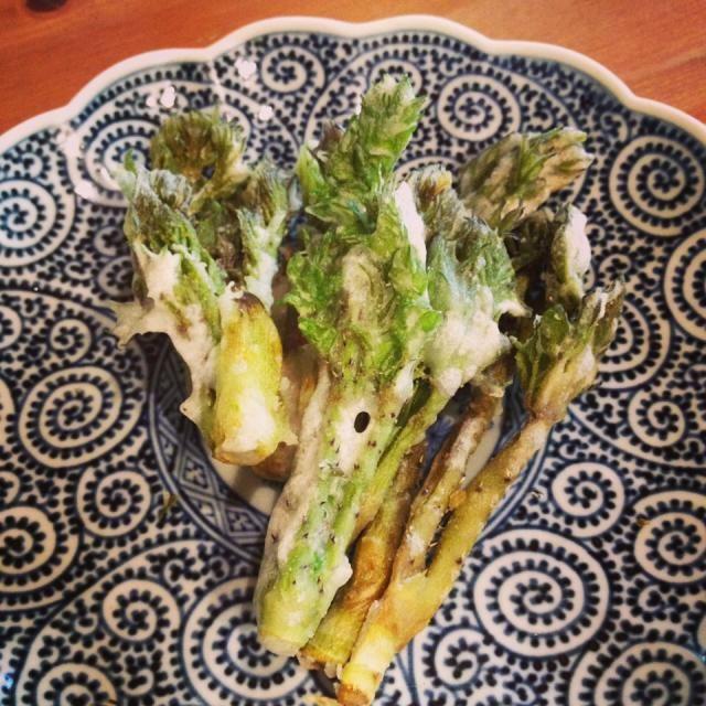 無農薬野菜取り寄せた中にたらの芽が入っていて、たらの芽食べたことなくて天ぷらにして初めて食べたらめっちゃ美味しい!! ふきのとうより苦くなく、米粉で揚げたお陰かサクサクしてスナック菓子みたいです!! 春の恵みの食材めっちゃ好きです! - 102件のもぐもぐ - たらの芽の米粉天ぷら by ひとみ