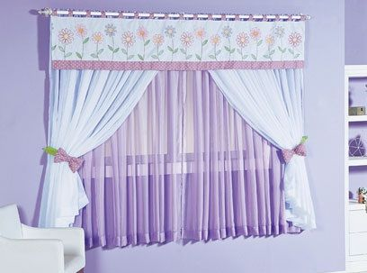 73 best cortinas images on Pinterest | Bedroom, Curtain ideas and Shades