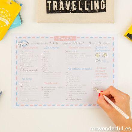 Tu maleta perfecta para las vacaciones con este descargable práctico y molón. | by Mr. Wonderful*