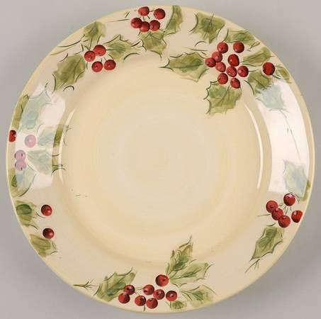 Click to Enlarge & 246 best Christmas Holly Pattern China images on Pinterest | Xmas ...