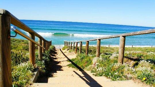 stairway to Narrabeen beach...