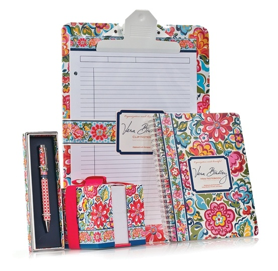 must have office accessories. perfect for back to school the office or campus new vera bradley stationery patterns include such colorful designs that you might have a hard must accessories v