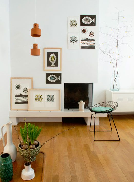 Jurianne Matter fantastic layout and adorable wire chair