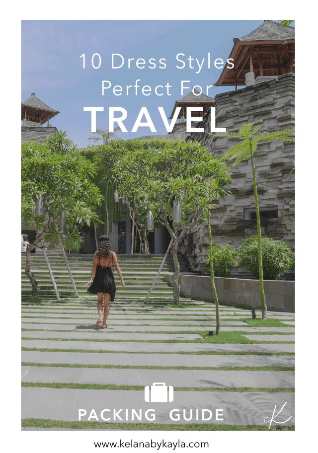 10 Dresses Perfect for Travelling   Packing Guide   Packing Tips   Dress for Travel