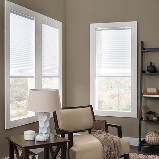 30 best pleated shades images on pinterest blinds for Best blinds for casement windows