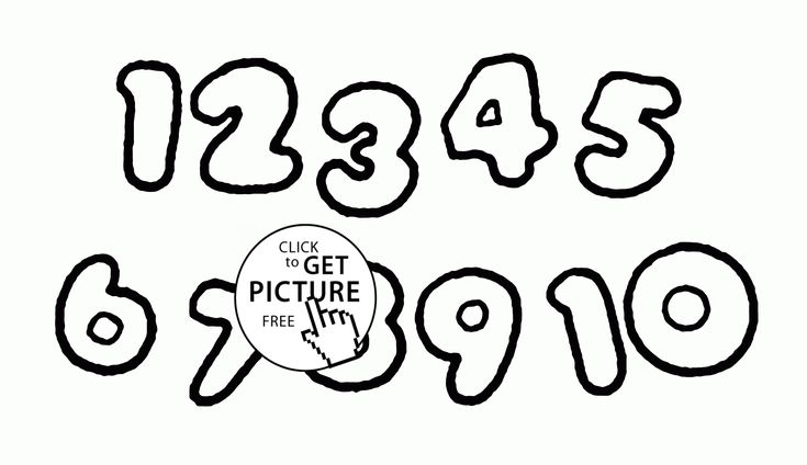 free printable counting coloring pages - photo#39