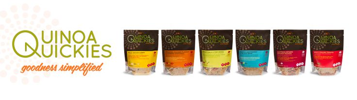 Made of 100% Canadian golden quinoa and all-natural ingredients, our West Coast inspired Quinoa Quickies are delicious side-dishes that are healthy and easy to prepare. They are quick nutritious meals that support your active lifestyle with natural goodness. Quinoa Quickies are Goodness Simplified!  Visit quinoaquickies.com for more info on Quinoa Quickies! #quinoaquickies #toptierfoods