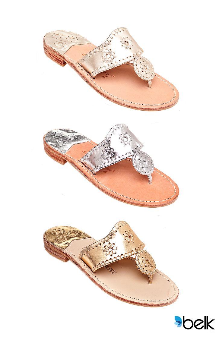 Black sandals belk - Jack Rogers Hamptons Classic Navajo Flats Win The Trifecta For Comfort Versatility And Glamour