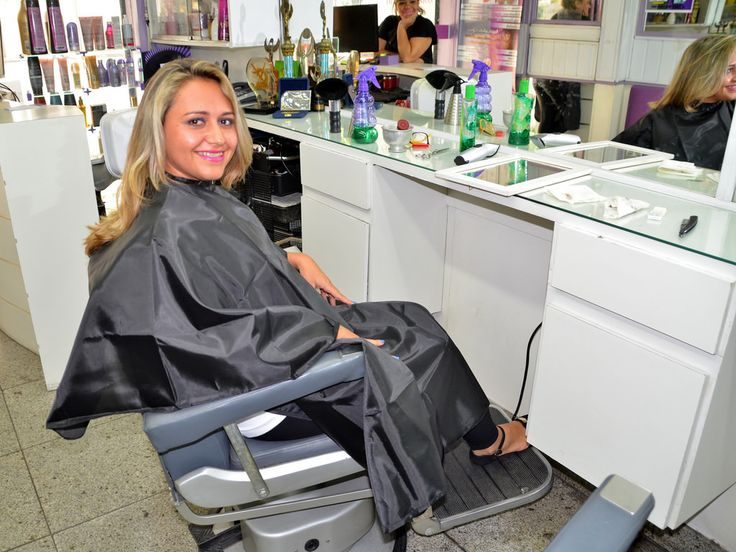 Фетиш парикмахерская