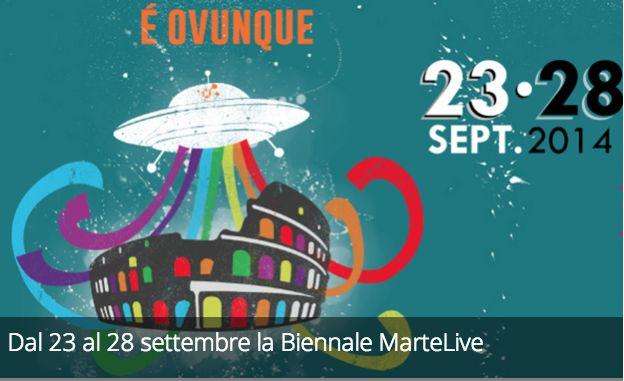 Dal 23 al 28 settembre la Biennale MarteLive