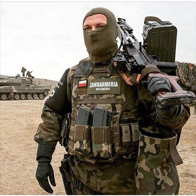 Special unit of Polish Military Gendarmerie.
