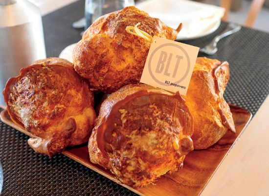 BLT Popovers | Appetizers and Snacks | Pinterest