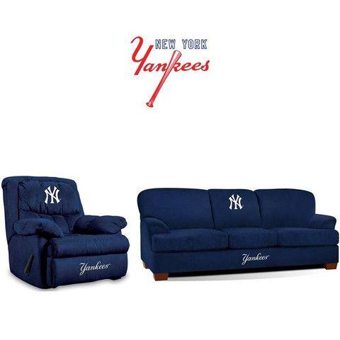New York Yankees Stadium Fan Cave Set  sc 1 st  Pinterest & 201 best New York Yankees images on Pinterest | New york yankees ... islam-shia.org