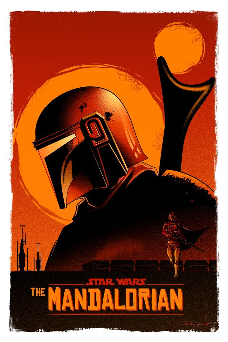 **The Mandalorian** fan art + covers etc Original