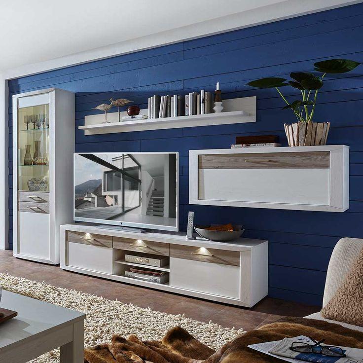 1000+ ideas about wohnwand modern on pinterest | moderne wand ... - Wohnzimmerschrank Modern Wohnzimmer