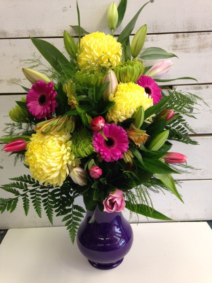 The Rays Bouquet is a cheerful burst of colour.