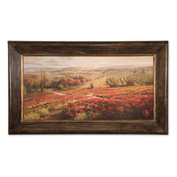 71 best for the home images on pinterest farms for What kind of paint to use on kitchen cabinets for red poppies canvas wall art