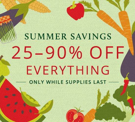 Now through September 7th we're having our end of summer sale to make room for our forthcoming fall releases!You have…