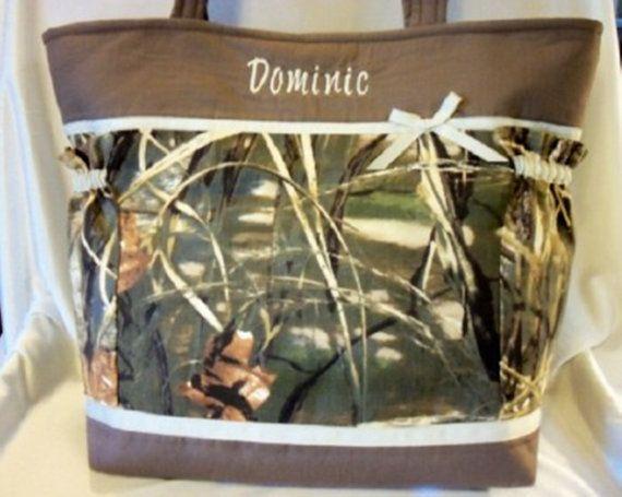 Blakely's diaper bag!!!  XXLG travel or duffle diaper bag or tote camo by designsbykeri4u, $85.99