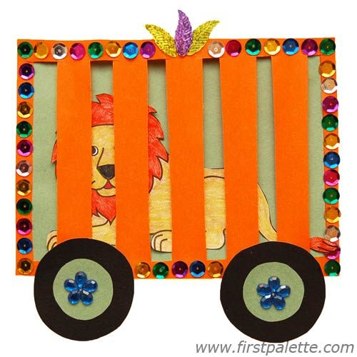 circus crafts kids images | Step 12 Circus Train craft