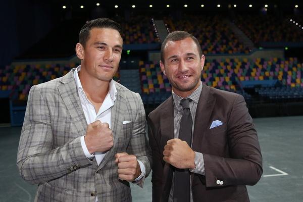 Rugby & Boxe: Quade Cooper sale sul ring