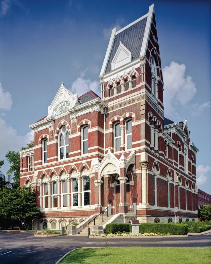 Willard Library, Evansville, Indiana ... built in 1885, is the oldest public library building in the state of Indiana and is housed in a spectacular Victorian edifice. The Willard Library has also been called the only public library that is haunted. Photo credit: Robert Dawson