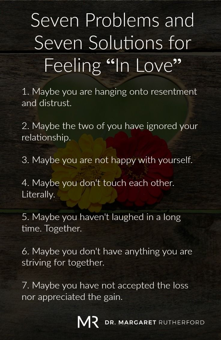Seven Ways To Get Back To Being In Love Relationship Problems Quotes Relationship Fights Anger Problems