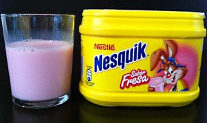 Nesquik de fresa. En Yo lo pruebo nos encanta. Descúbrelo aquí: http://www.yolopruebo.com/nesquik-sabor-fresa/