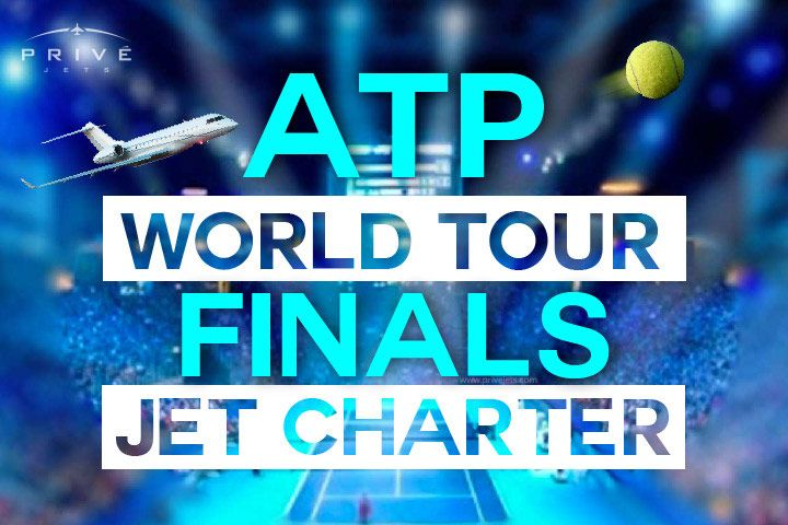 Traveling to the 2015 ATP World Tour Finals? What better way to arrive than by flying in style in a private jet? Privé Jets offers jet charter services to or from the ATP World Tour Finals.