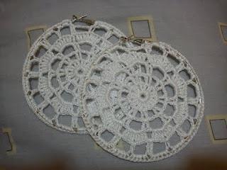 Argollas de crochet