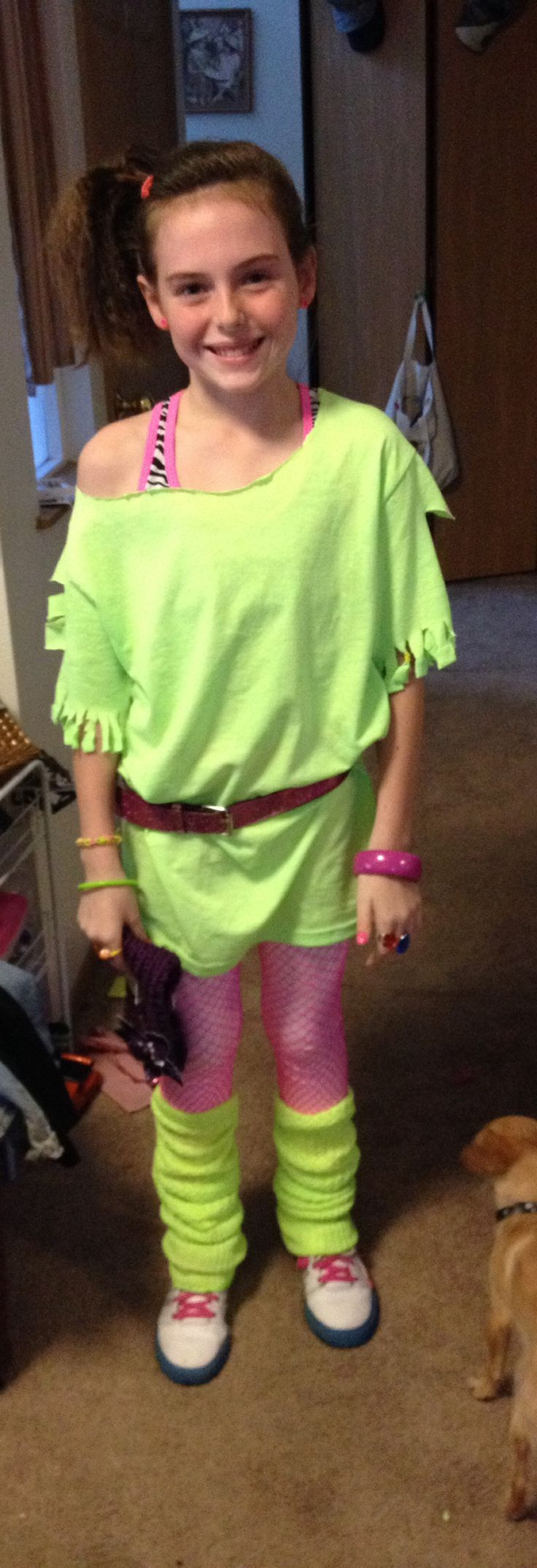 80s party...will have to convince Vada to have an 80s party theme one day when she's older...