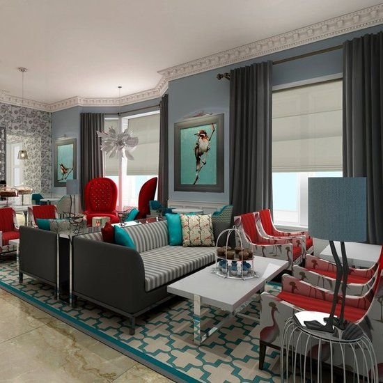 Ampersand Hotel London - opening August 29th! The rooms looks so chic!