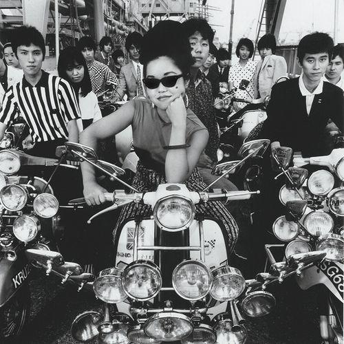 .Mod Style, Vespas Girls, Asian Style, Scooters Girls, Mod Culture, Midmod 5060S, Vespas Japan, Photography, Asian Mod