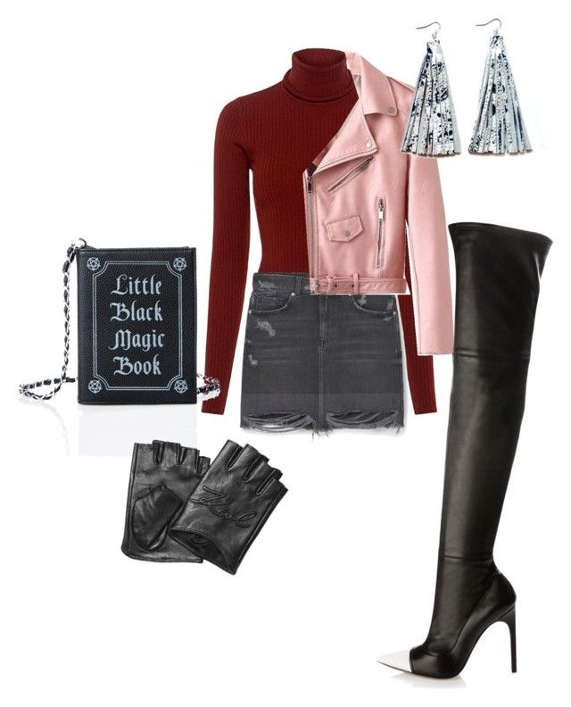 """Без названия #5"" by brinnyn-1 on Polyvore featuring мода, A.L.C., MANGO, Current Mood, Karl Lagerfeld и Givenchy"