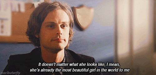 """I think it's perfectly acceptable and rather admirable to be moderately delusional."" -Matthew Gray Gubler (Gub)"