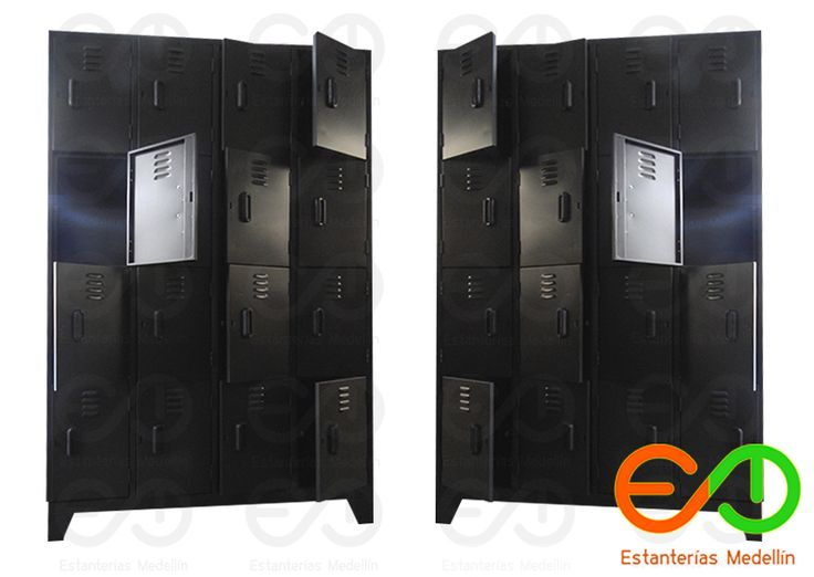 locker metalicos-estanterias metalicas medellin, Muebles metalicos Medellin lockers y casilleros
