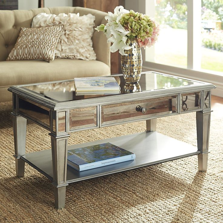 Hayworth Coffee Table - Silver | Pier 1 Imports