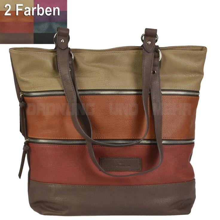 Tom Tailor Shopper Tasche Damen Schultertasche Handtasche CAROL