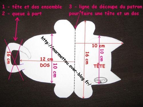 MOLDE 1 gatinho porta celular ( pág. 632) | Aprender manualidades es facilisimo.com