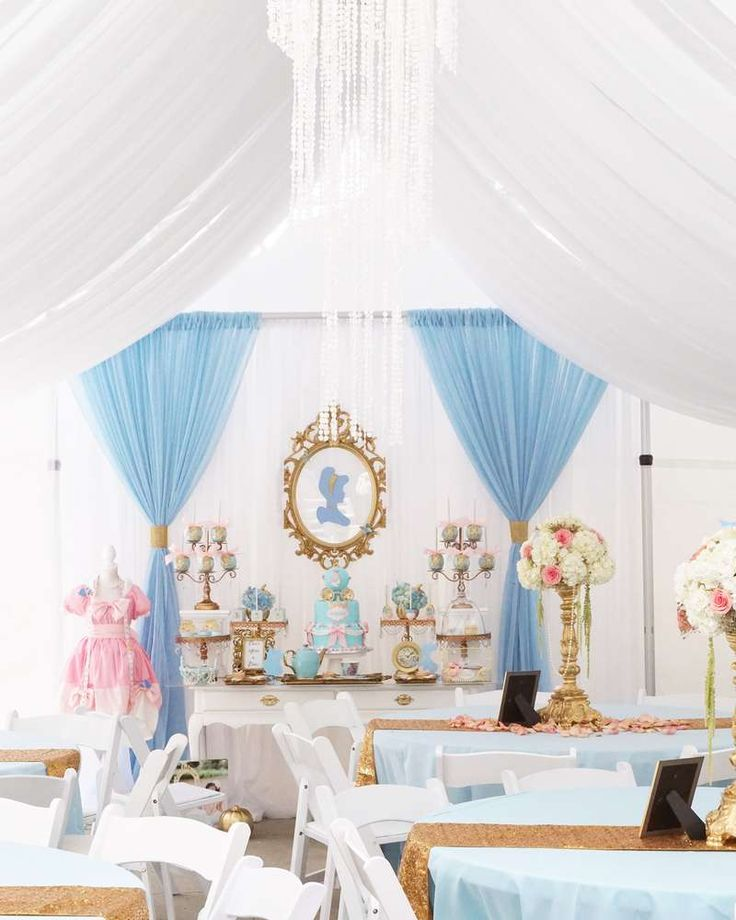 Cinderella Birthday Party Ideas | Photo 1 of 12 | Catch My Party